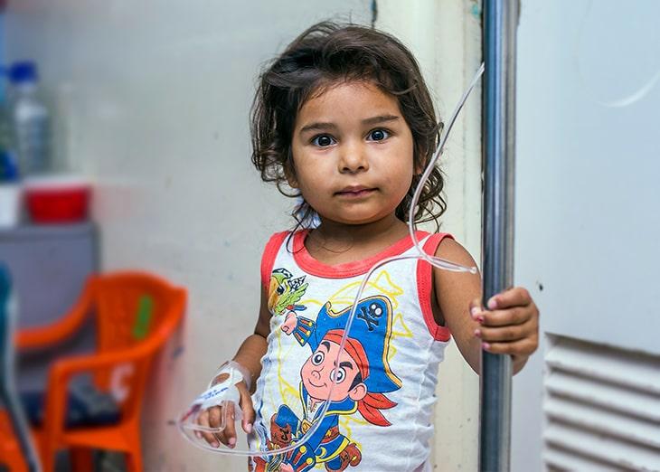 lucha contra el cancer infantil Nicaragua